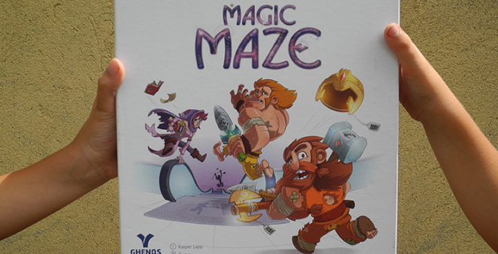 Magic Maze - la scatola del gioco