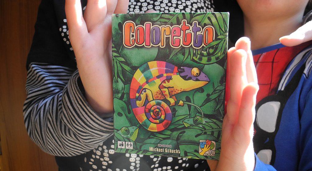 Coloretto - la scatola del gioco