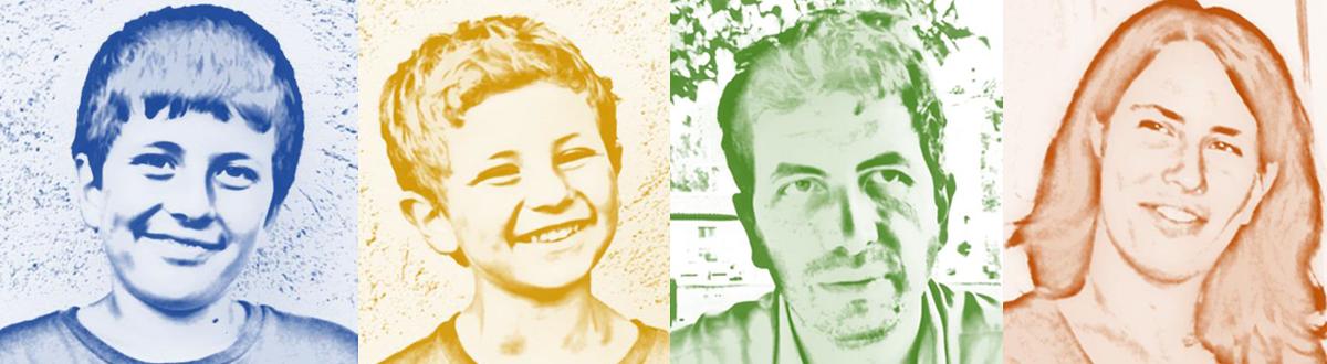 Tutti i colori del gioco - la nostra famiglia in gioco
