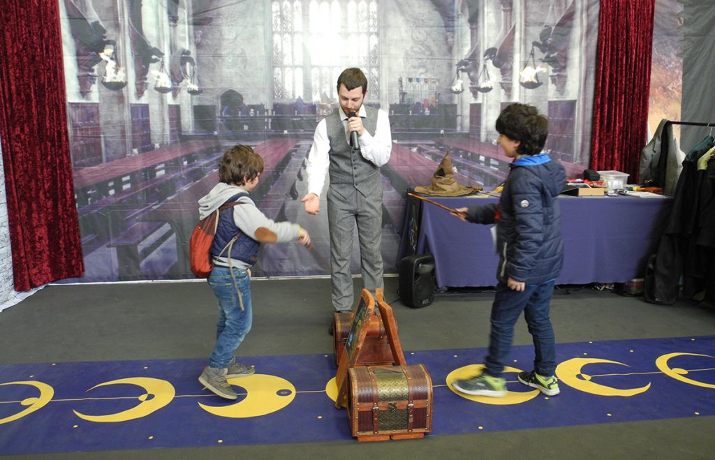 Play 2019 - il duello dei maghi a tema Harry Potter