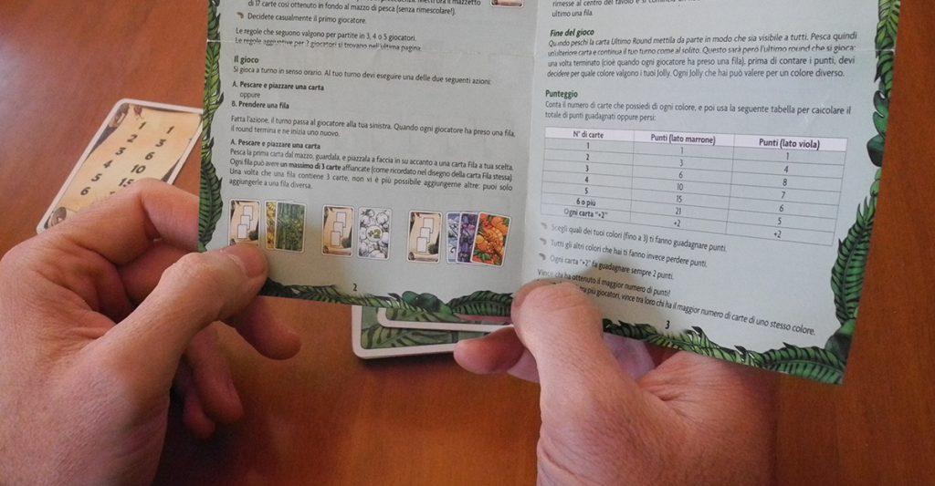 Per spiegare un gioco è consigliato studiare prima il regolamento