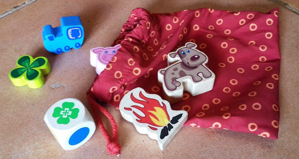 L'età nei giochi - pezzi in legno di giochi da tavolo per bambini Haba
