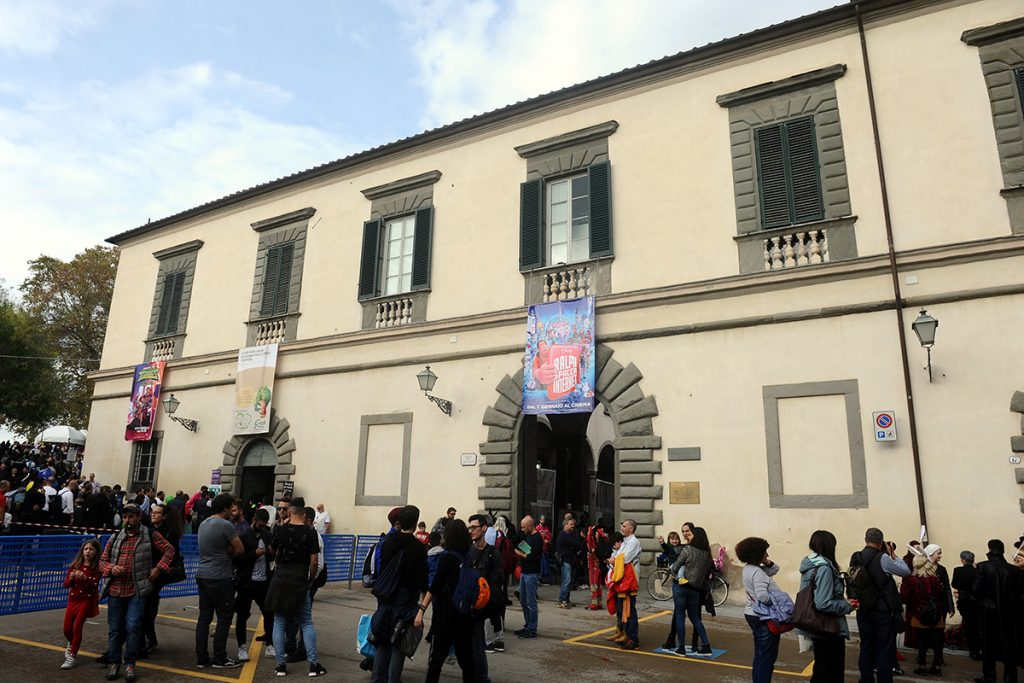 Lucca Comics and Games - facciata del Real Collegio