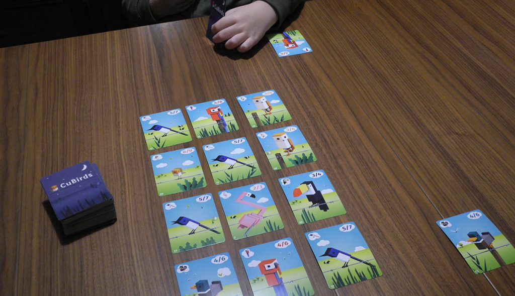 Il setup iniziale del gioco