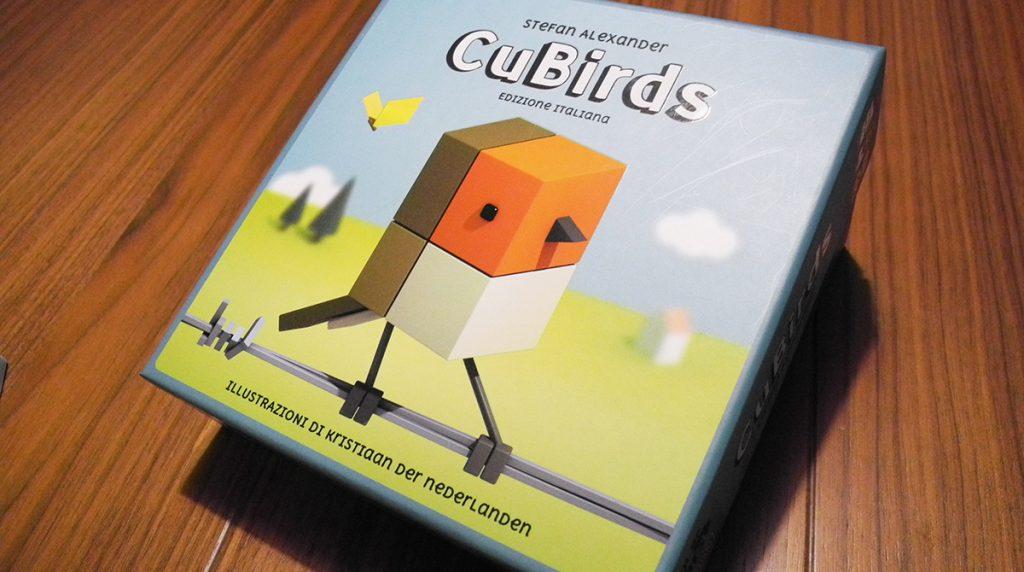 CuBirds - la scatola del gioco