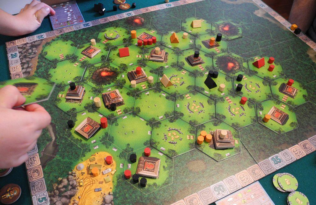 Partita di Tikal in corso