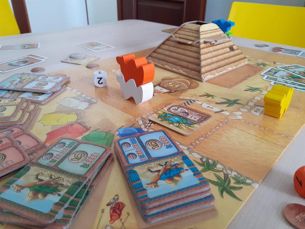 Fine della partita con vittoria del cammello arancione