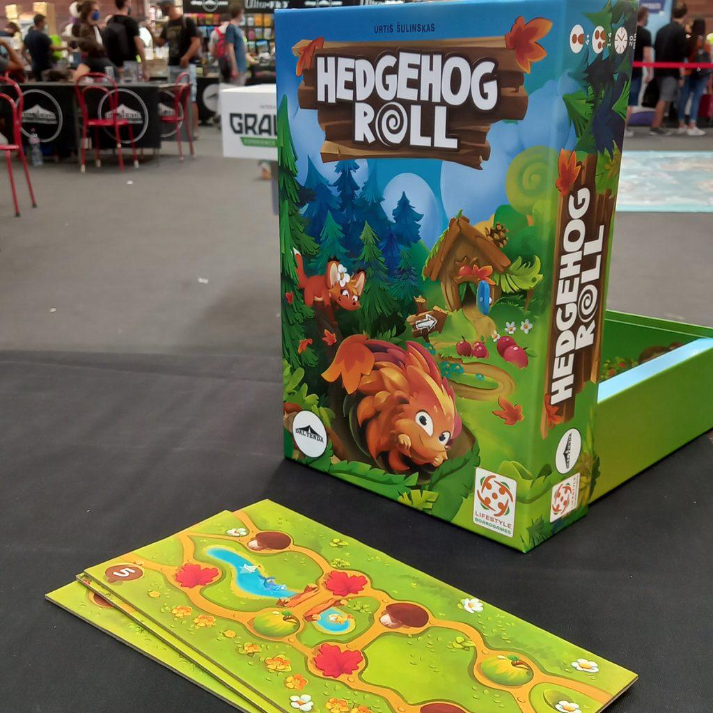 La scatola del gioco Hedgehog Roll